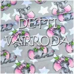 Elefánt csillagos - rózsaszín