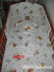 Bébi ágynemű szett 3 részes - Tündérke