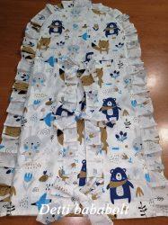 Maci sálban (kék) - Pólyahuzat
