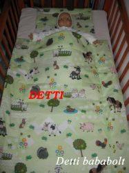 Állatfarm - Bébi ágynemű szett 2 részes