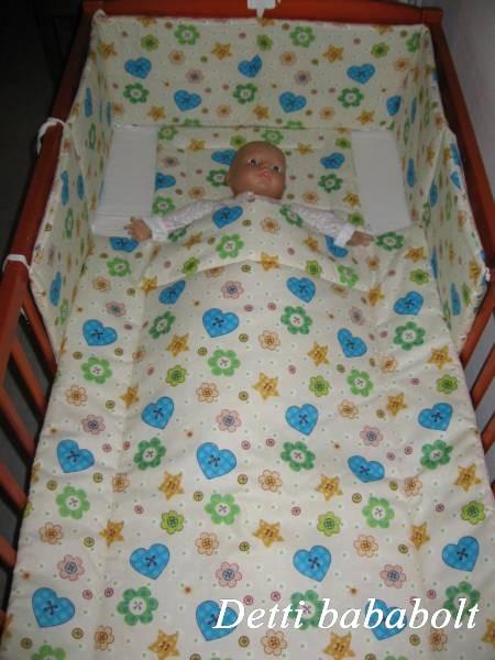 Bébi ágynemű szett 3 részes - Szívecskés - Detti gyerekágynemű és ... 6af809cb78