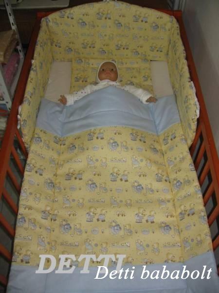 Bébi ágynemű szett 3 részes - Túrázós macik - Detti gyerekágynemű és ... bb60ab9421