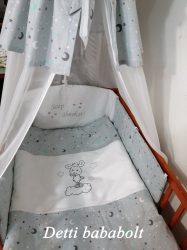 Báránykás csillagos - 6 részes levehető huzatos ágynemű szett