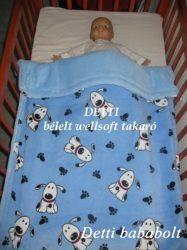 Kutyus mintás - Wellsoft pihe puha bélelt takaró