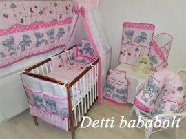 Teddy maci - Rózsaszín