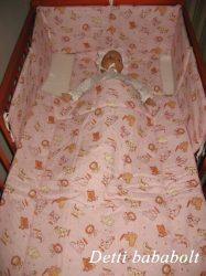 Bébi ágynemű szett 3 részes - Szafari
