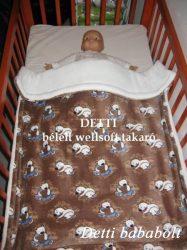 Jegesmedve mintás - Wellsoft pihe puha bélelt takaró