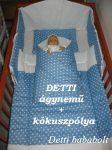 Bébi ágynemű szett 3 részes - Pöttyös Kókuszpólyával