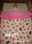 Katicabogár és pillangó mintás - Wellsoft pihe puha bélelt takaró