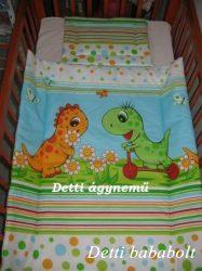 Dinós - Bébi ágynemű szett 2 részes