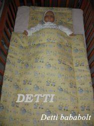 Túrázós macik - Bébi ágynemű szett 2 részes