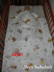 Bébi ágynemű szett 2 részes - Tündérke