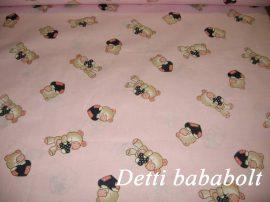 Maci szívecskével - Ovis huzat vagy ovis szett