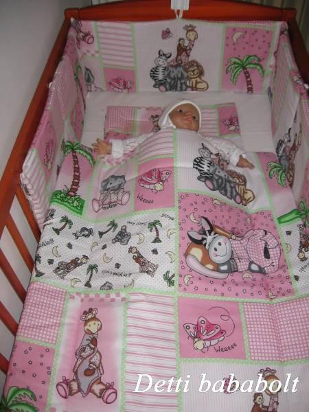 Bébi ágynemű szett 3 részes - Szafari - Detti gyerekágynemű és Bambi ... c6761228e0